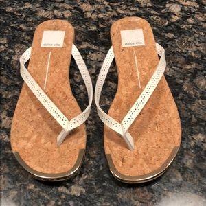Dolce Vita white sandal